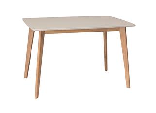 Стол обеденный EXEN Intarsio 120x80 см Крем