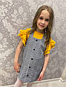 Детский сарафан с футболкой на рост 110-122 см, фото 2