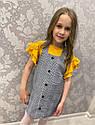 Дитячий сарафан з футболкою на зріст 110-122 см, фото 2