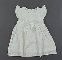{есть:104 СМ,110 СМ,116 СМ,128 СМ} Платье для девочек Breeze,  Артикул: T15409-белый [104 СМ]