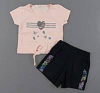 Комплект для девочек Breeze, Артикул: T0798-пудра [104 СМ] {есть:104 СМ,110 СМ,116 СМ,122 СМ,98 СМ}