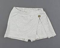 {есть:128 СМ,134 СМ,140 СМ} Шорты-юбка для девочек Breeze,  Артикул: T15719-беж [128 СМ]