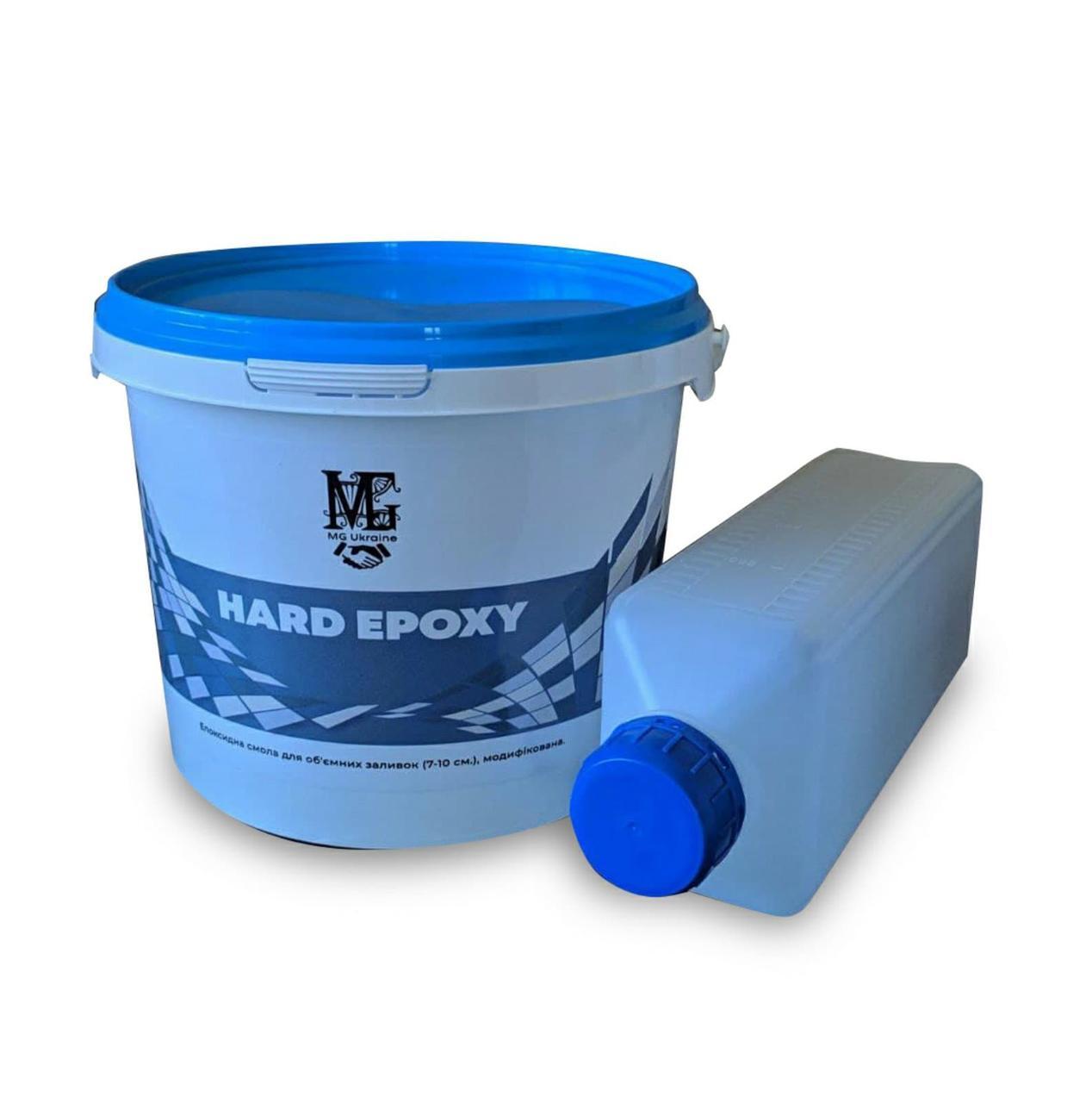 Эпоксидная смола для объемных заливок от 20 мм до 50 мм 3,00 кг Hard epoxy