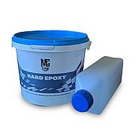 Эпоксидная смола для объемных заливок от 20 мм до 50 мм 3,00 кг Hard epoxy, фото 1