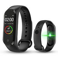 Фітнес браслет Smart Watch M5 Band Classic Black смарт годинник-трекер. Колір: чорний