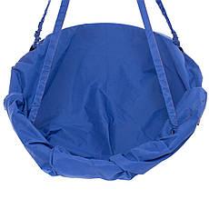Подвесные садовые качели Kospa без подставки прямоугольная подушка 250 кг - 120 см Синий, фото 2