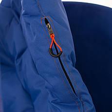Подвесные садовые качели Kospa без подставки прямоугольная подушка 250 кг - 120 см Синий, фото 3