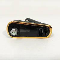 FM Трансмітер в машину SmartUS G11 BT ФМ модулятор автомобільний. Колір: золото