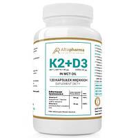 Вітаміни Altopharma K2 MK7 З Натті + D3 2000ІУ