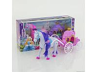 Игровой набор кареты с лошадью и куклой New Type Carriage (686-713)