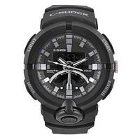 Годинник наручний G-SHOCK GA-500. Колір: чорний з білим