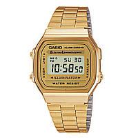 Годинник наручний класичний: Casio. Колір: золото