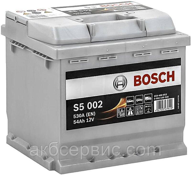 Аккумулятор автомобильный Bosch 6СТ-54 S5 Silver Plus (S50 020)
