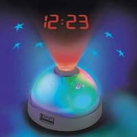 Годинники нічник з проектором