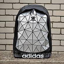 Рюкзак в стиле Adidas Grey унисекс