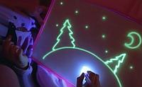 Набор для рисования Рисуй светом A4 Детский игровой набор для творчества