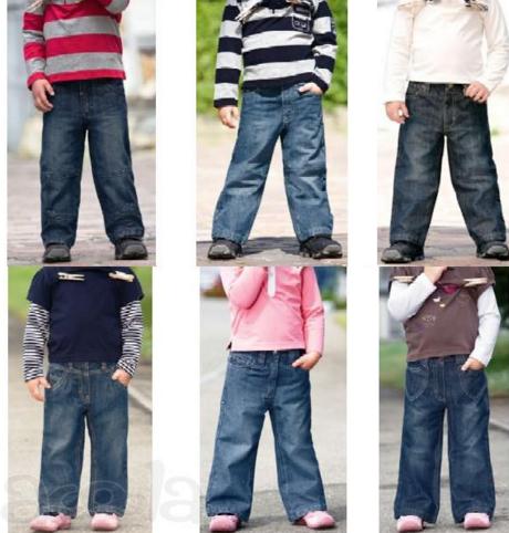Джинсовая детская и подростковая одежда