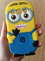 Силіконовий чохол Міньйон для Samsung Galaxy G350, Minions