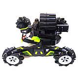 Машинка всюдихід на радіокеруванні з кулеметом Universe Chariot 360 ° Танк стріляє з пультом управління, фото 10