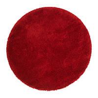 ОДУМ Ковер, длинный ворс, ярко-красный 130 см