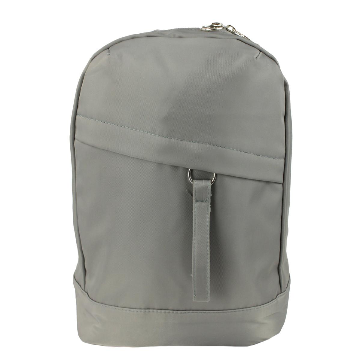 Рюкзак школьный тканевый Slo серый