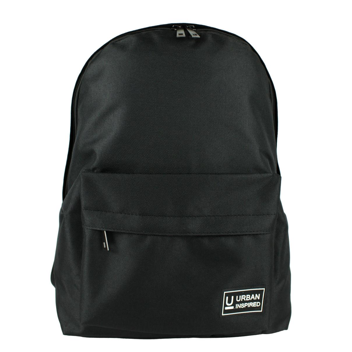 Рюкзак школьный Urban текстиль черный