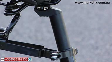 Новинка 2019 року. Підлітковий велосипед 20 дюймів фетбайк червоний з білим, фото 2
