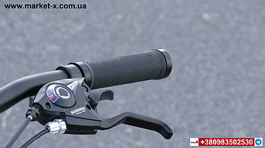 Новинка 2019 року. Підлітковий велосипед 20 дюймів фетбайк червоний з білим, фото 3
