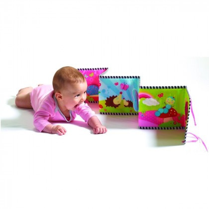 Моя перша книжка Крихітка Принцеса,книжка-Бампер Tiny Love