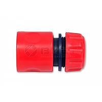 Конектор пластиковий з аквастопом, 3/4,  72-403 Technics // Коннектор пластиковый