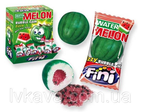 Жевательная резинка Water Melons bubble gum  FINI , 5  гр х 200 шт, фото 2