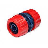 Ремонтний з'єднувач пластиковий для шланга, 3/4, 72-446 Technics // Ремонтный соединитель пластиковый для шланга