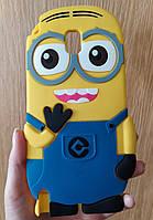 Силиконовый чехол Миньон для Samsung Galaxy Note 3, Minions