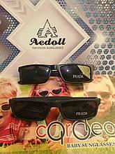 Мужские, стильные,солнцезащитные очки PRADA, на полароидной линзе, узкие