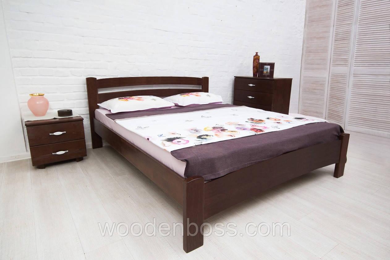 Ліжко полуторне Мілана Люкс з ящиками 140*190/200