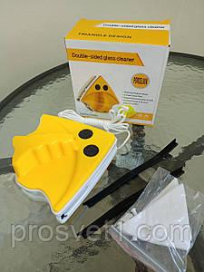 Щетка магнитная для мытья стекол Doublefaced Glass Clean