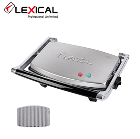 Контактный гриль LEXICAL LSM-2505  1300W  / Электрический гриль