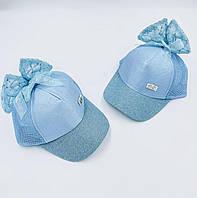 """Дитячі кепки для дівчаток """"Бант"""""""