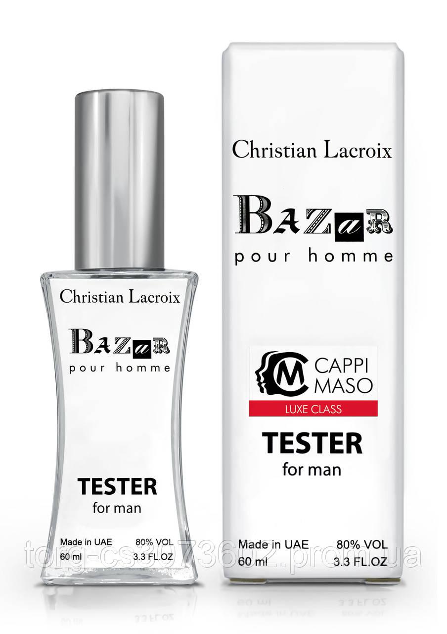Тестер чоловічий LUXE CLASS Christian Lacroix Bazar pour homme, 60 мл