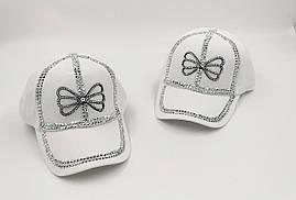 """Дитячі кепки для дівчаток """"Метелик"""""""