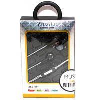 Наушники RIAN (ZhaoLe) ZLC011 | Наушники вакуумные проводные | Гарнитуры для смартфона