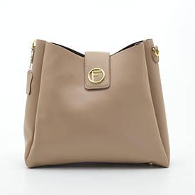 Жіноча сумка 2в1 XBH-16614 apricot
