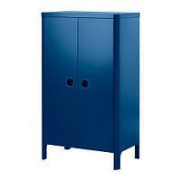 БУСУНГЕ Шкаф платяной, классический синий 80x139 см