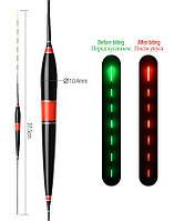 LED поплавок для ночной рыбалки с индикатором поклевки