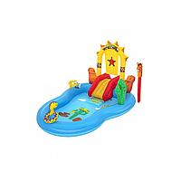 Детский надувной игровой центр Дикий запад Bestway 53118