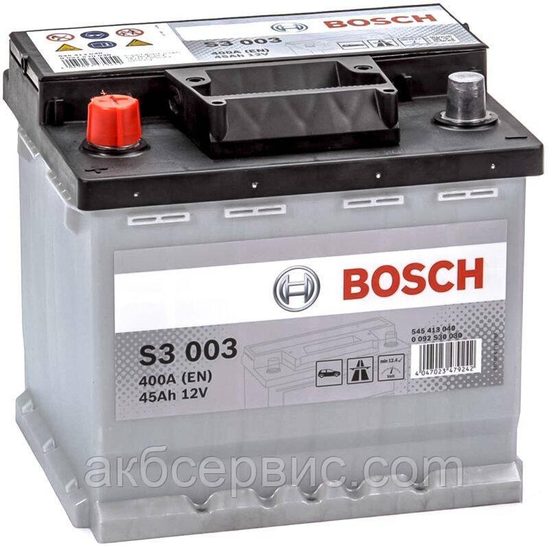 Аккумулятор автомобильный Bosch 6СТ-45 S3 (S30 030)