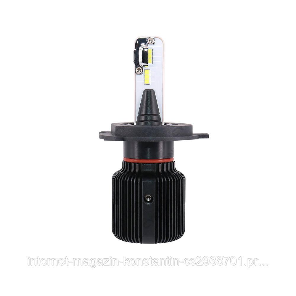 CYCLONE LED H4 H/L 5000K 4500Lm CSP Type 21