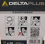 Многоразовые силиконовые беруши Delta Plus Conicfir 050 29 дБ 50 пар (CONICFIR050OR), фото 4