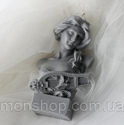 Свічка Дівчина з арфою (15 см)