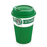 Термокружка Стакан StarBucks 008 Зеленая 183960